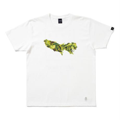 "APPLEBUM × CHOP ROLL SLOW BURN  ""TOKYO"" T-shirt [White]"