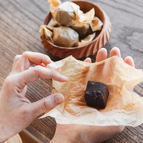 ヴィーガン・ローチョコレート・ガナッシュ <Vegan Raw Chocolate Ganache>