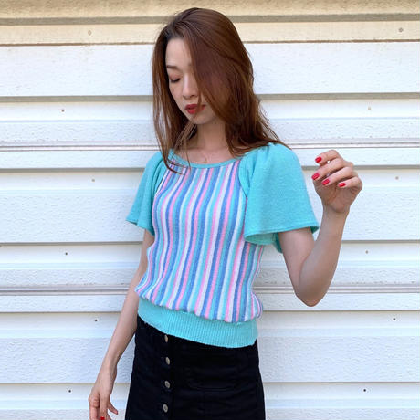 Pastel Stripe Top