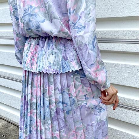 Floral Watercolor  Dress