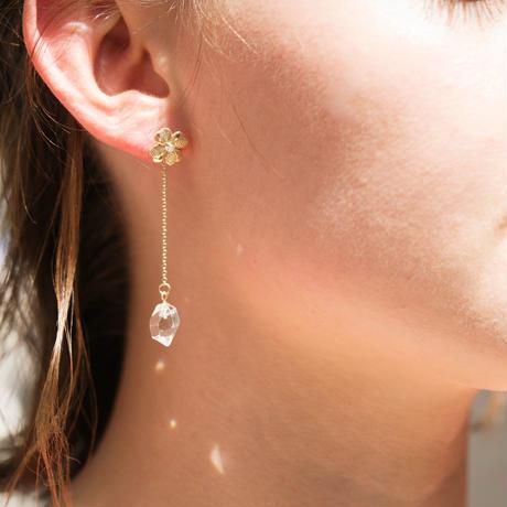 ゆれるハーキマーダイヤモンド(シングル) Sサイズ