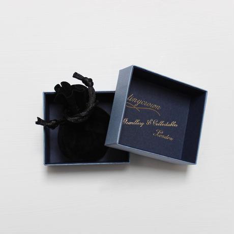 ミニクローバーのペンダント*3色の宝石