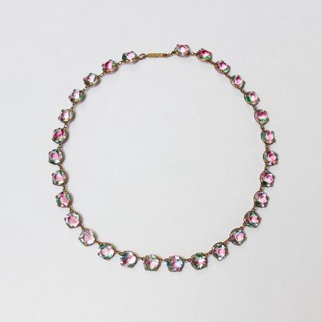 アイリスガラスのネックレス*fourclaws