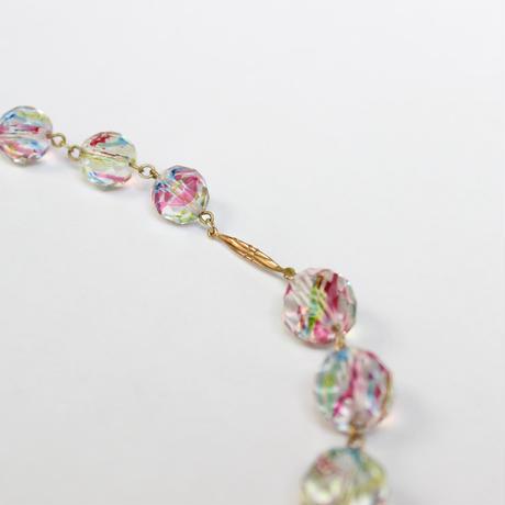 アイリスガラスのネックレス*candy