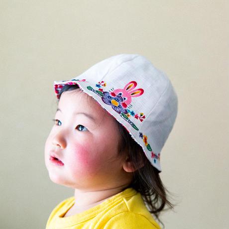 こども帽子・うさぎ(FOR KIDS)