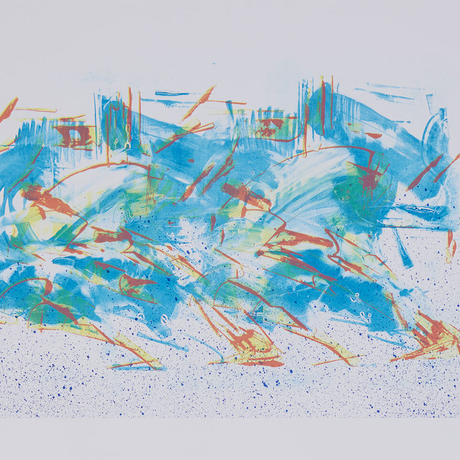 """TakuObataDrawing Book """"Spectrum of the Move"""" (TISSUE PAPERS 06)"""