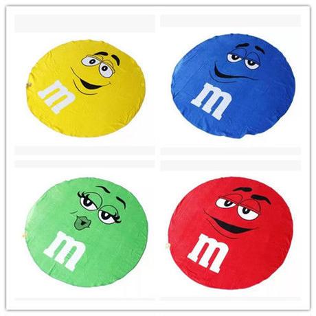 M&M's  大判 バスタオル ビーチマット//4color