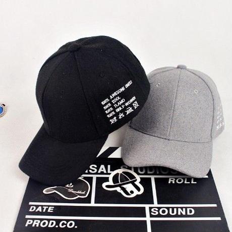 wash tag CAP//2color
