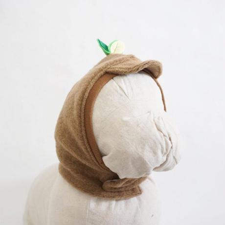 ブヒの実フーディーキャップ2(つば付)//ベージュ    *フレブル服TiTiTi