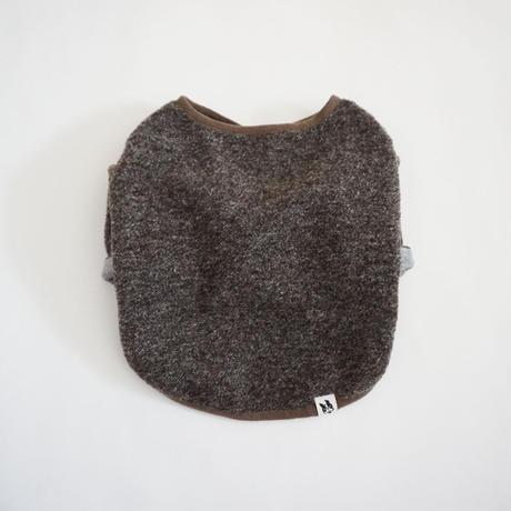 スライバーニットのジャケット//杢チャコール        *フレブル服TiTiTi