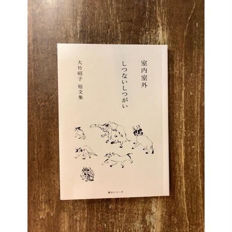室内室外 しつないしつがい 大竹昭子短文集