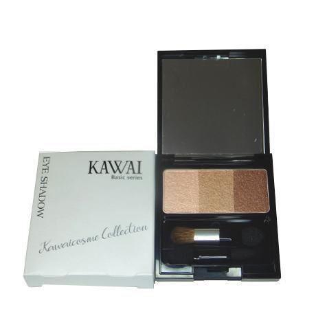 カワイ アイシャドウBR-1  色:ナチュラルブラウン   ベーシックシリーズ