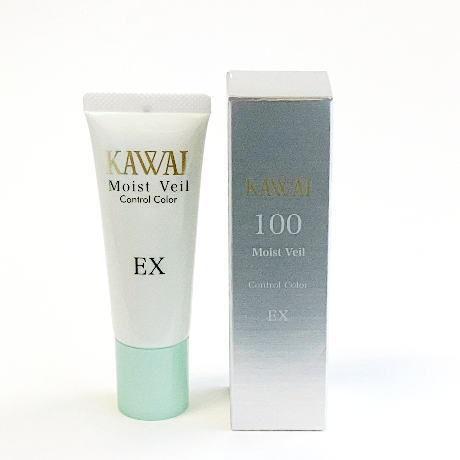 カワイ モイストベール コントロールカラーEX〈化粧下地〉ネリファンデーション 100番グリーンカラー