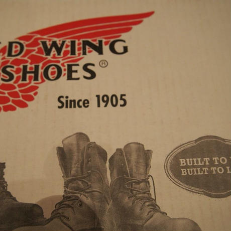 RED WING SHOES 黒 28cm モックトゥUSED