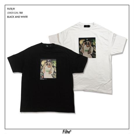 Joker Girl T-Shirt Black&White 8月上旬発送予定