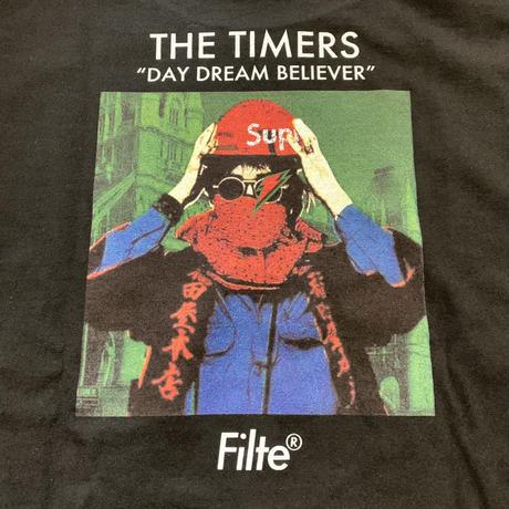 TIMERS DDB T-Shirt BLACK×RED