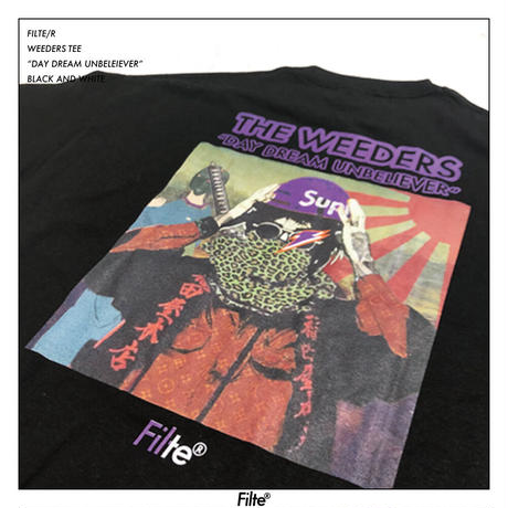 THE WEEDERS T-Shirt Black( RED,PURPLE,GREEN)