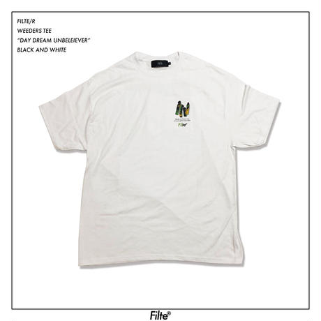 THE WEEDERS T-Shirt White( RED,PURPLE,GREEN)