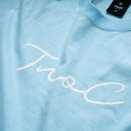 TNOC THE TEE / LIGHT / Signature WATER BLUE