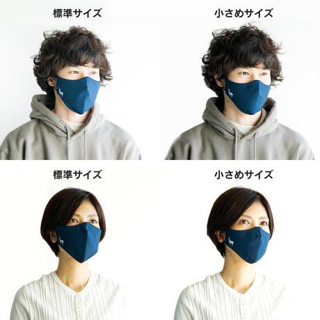 TNOC NANO FABRIC MASK(ナノファブリック™マスク) スノーグレー/ホワイト