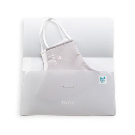 TNOC NANO FABRIC MASK CASE(ナノファブリックマスクケース)スノーグレー