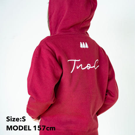 TNOC THE HOODIE / Signature WINE DROP