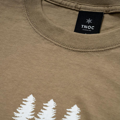 TNOC THE TEE / LIGHT / FOREST SAND KAHKI