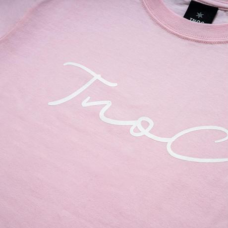 TNOC THE TEE / LIGHT / Signature PETAL PINK