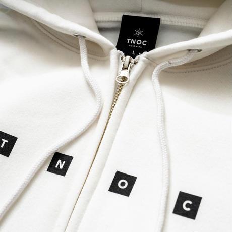 TNOC THE HOODIE / 4BOX SNOW WHITE