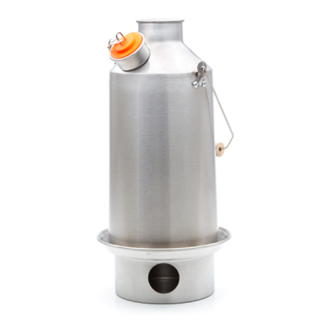 Kelly Kettle Base Camp 1.6L Stainless steel