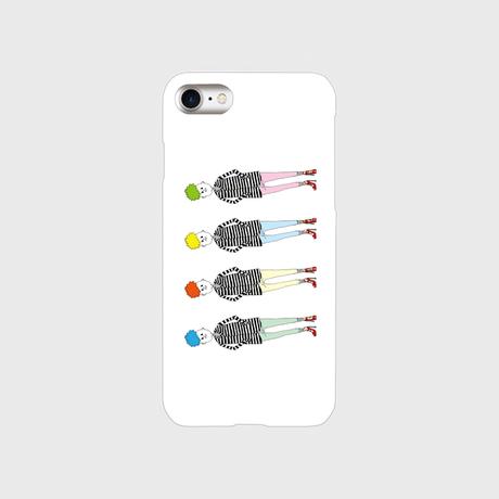 "kazaho furusho smart phone case for iPhone ""横からすいません"""