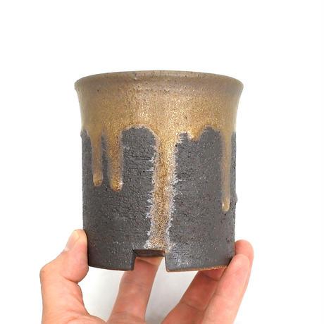 Shigaraki Pot -金彩寸胴3.5号-
