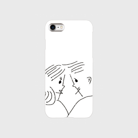 "kazaho furusho smart phone case for iPhone ""カップル"""