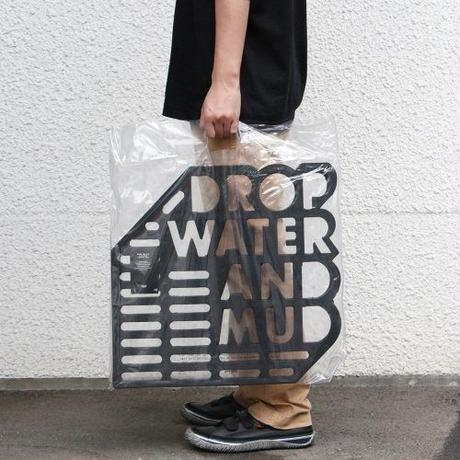 """Rubber Mat """"Drop water and mud"""""""