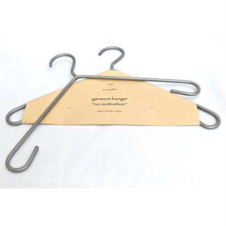 "garment hanger ""no motivation"" single"