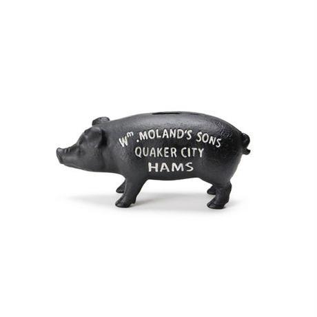 "Hams Standing Pig Bank ""Black"""