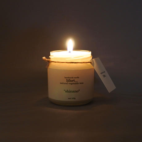 "fragrance candle ""shinano"""