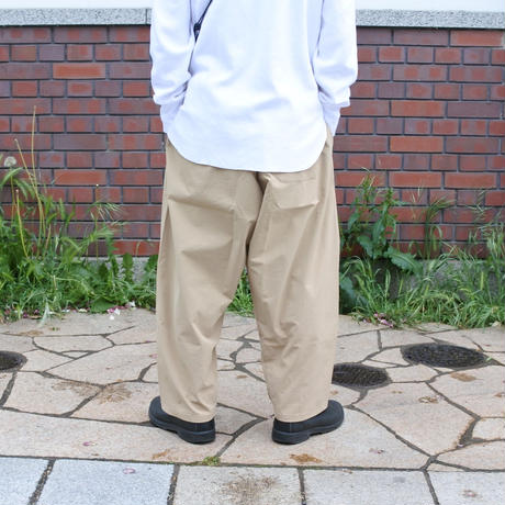 SUNDAY PANTS -BEIGE-