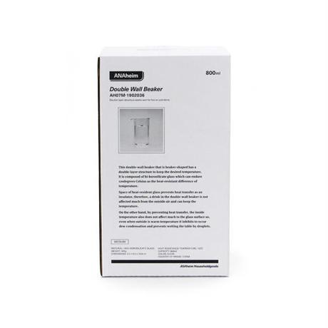 "ANAheim Double Wall Beaker ""800ml"""
