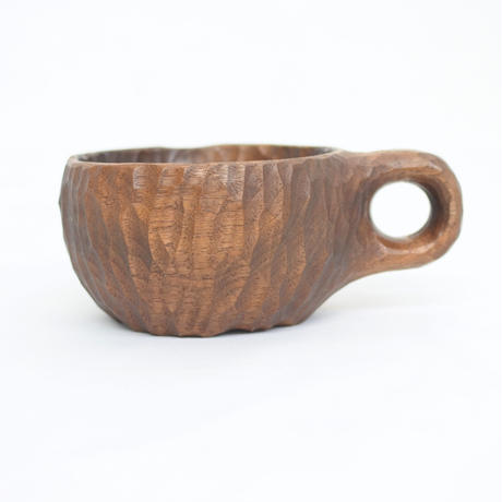 Round Wood Cup