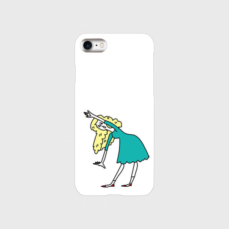 "kazaho furusho smart phone case for iPhone ""よっこらしょっと 2"""