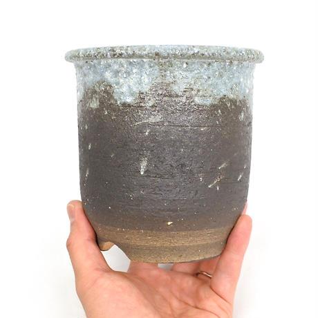 Shigaraki Pot -綿かべ大深4.5号-