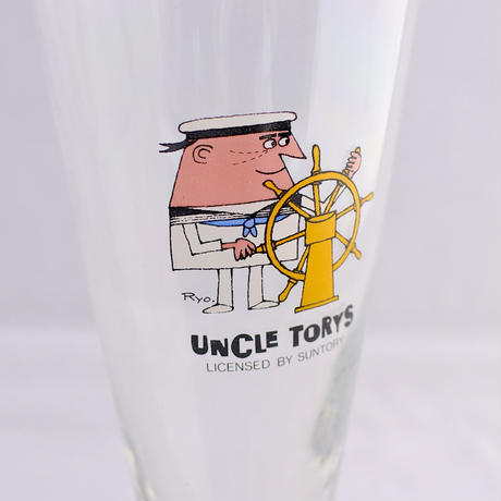 UNCLE TORYS pilsner glass