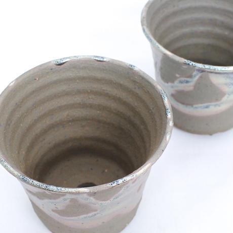 Shigaraki Pot -鉄釉ソリ深-