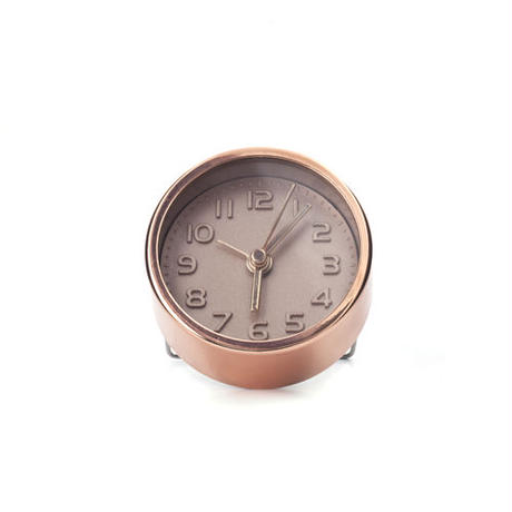 Gold and Copper Alarm Clocks