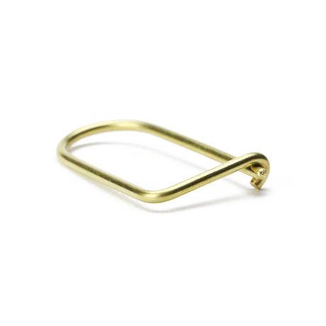 """Wilson Key Ring """"Brass"""""""