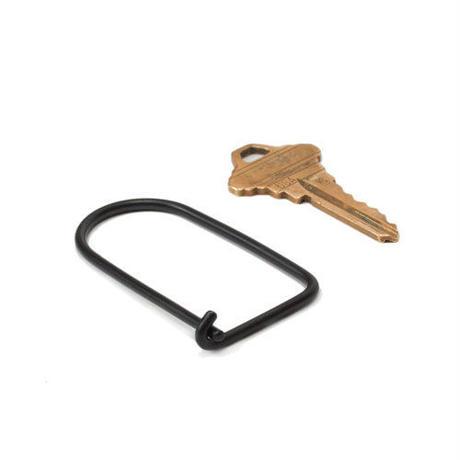"Wilson Key Ring ""Carbon black"""