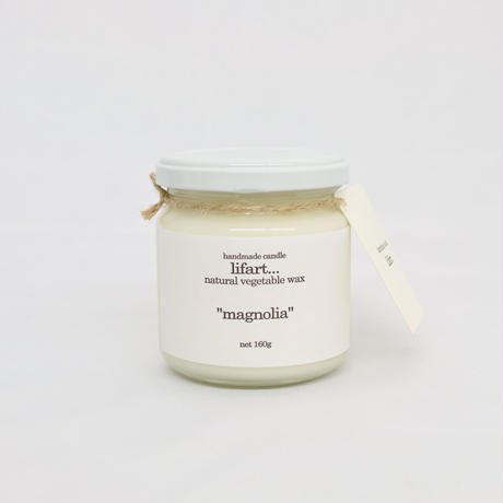 "fragrance candle ""magnolia"""