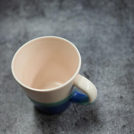 Mug cup S -Pink×Blue-