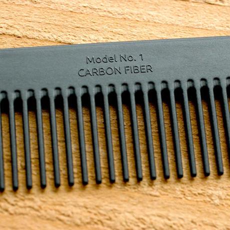 """Chicago Comb """"Model No.1 carbon fiber"""""""